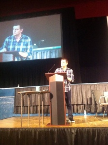Gary Vaynerchuk delivering the Keynote at the 2014 Westchester Digital Summit